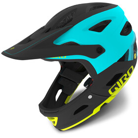 Giro Switchblade MIPS casco per bici nero/turchese
